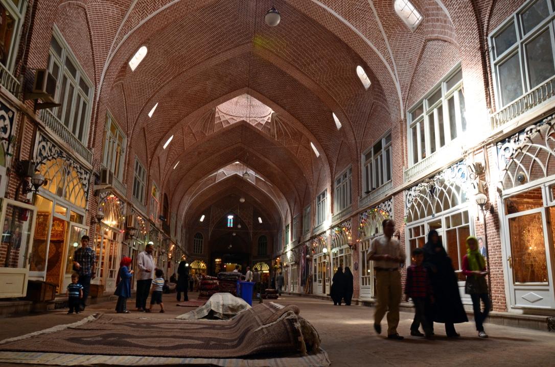 Mozaffariyeh_Arcade_-_Tabriz_Bazar